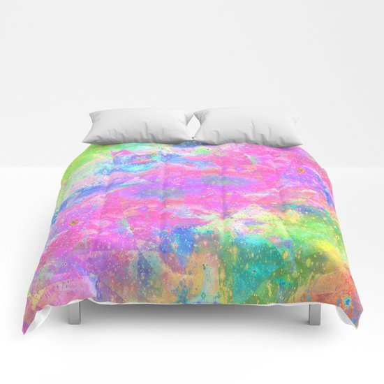 COLORED Comforters