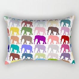 Colorful Herd Rectangular Pillow