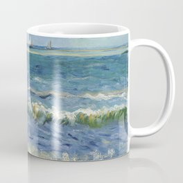 Vincent Van Gogh - Seascape at Saintes-Maries, 1888 Coffee Mug