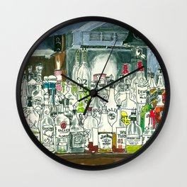The Locals Wall Clock