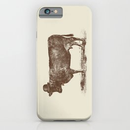 Cow Cow Nut #1 iPhone Case