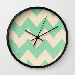 Malibu - Chevron Wall Clock
