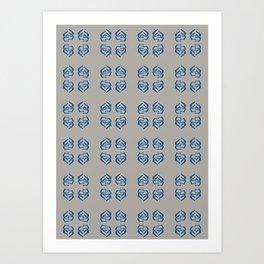 Traveller : Mystique ; Ship's Passage. Art Print