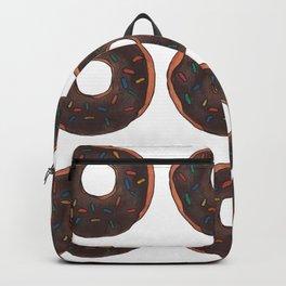 Chocolate Doughnuts Backpack