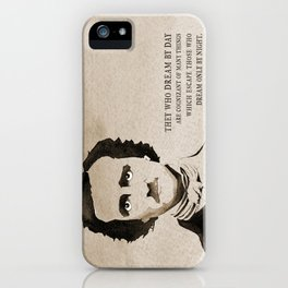 Poe Dream by Day iPhone Case