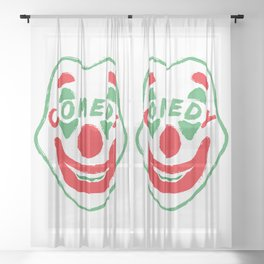 Comedy Sheer Curtain