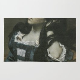 Gustave Courbet - Spanish Woman Rug