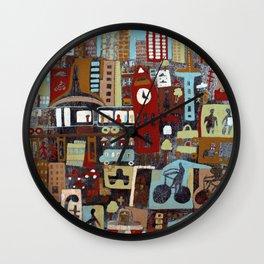 City, City Wall Clock