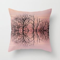 Candy skies Throw Pillow