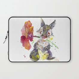 Thumper With Flower Laptop Sleeve