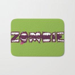 Zombie bites Bath Mat