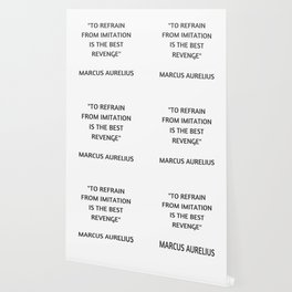 Stoic Philosophy Quote - Marcus Aurelius - The Best Revenge Wallpaper