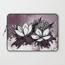 Flower Tangle Laptop Sleeve