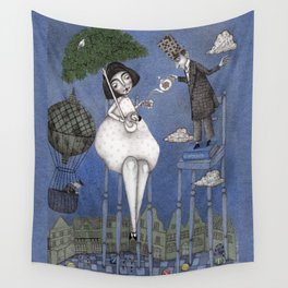 Alice So Tall Wall Tapestry