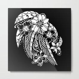 Maui Polynesian Tribal Threads Metal Print
