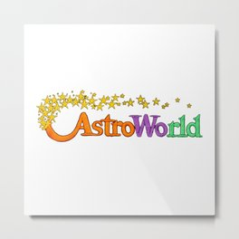 astroworld Metal Print