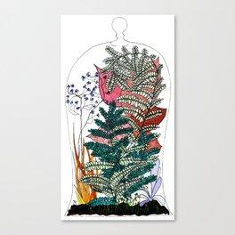 """Verve""/ Ecosphere Canvas Print"
