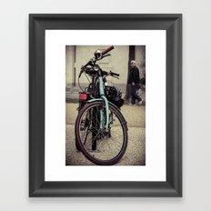 Trendy Society Framed Art Print