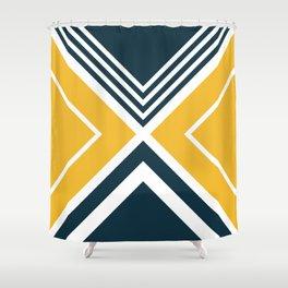 Nautical geometry 2 Shower Curtain