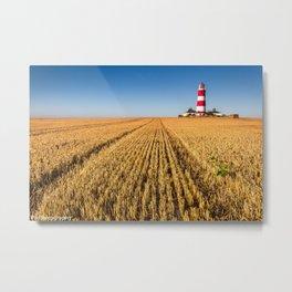 Happisburgh Lighthouse Metal Print