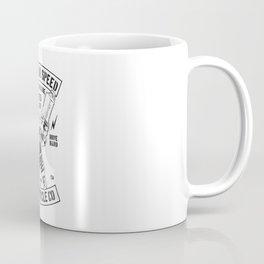 build for speed Coffee Mug