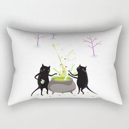 What's brewing Rectangular Pillow