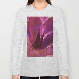 Purple Agave Long Sleeve T-shirt