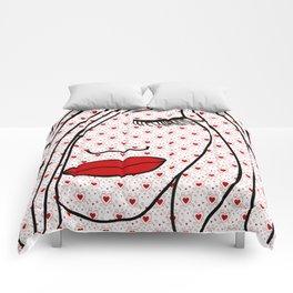 Portrait Of Love Comforters