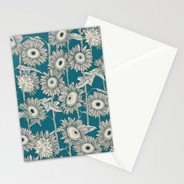 Field of Sunflowers Stationery Cards