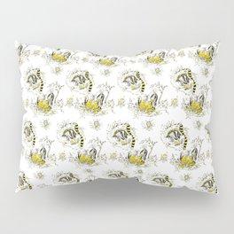 Hufflepuff Toile Pillow Sham