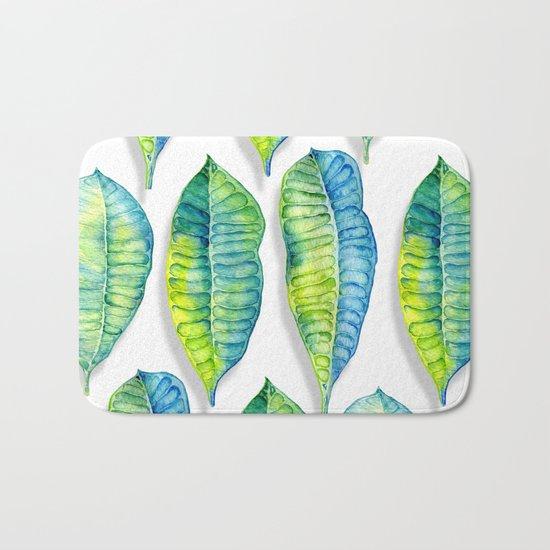 tropic leaf  Bath Mat