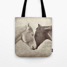 Horse Hug Tote Bag