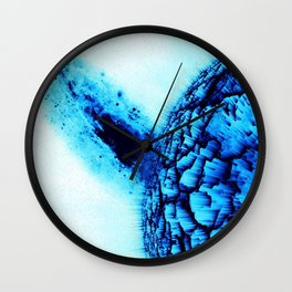 Cold Explosion Wall Clock