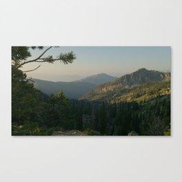 Great Western Trail Canvas Print