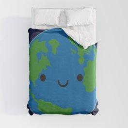 Planet Earth Duvet Cover