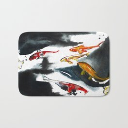 Koi in the Conservatory at Swansons Nursery Bath Mat