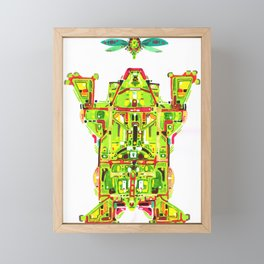 Hunter Toad Framed Mini Art Print