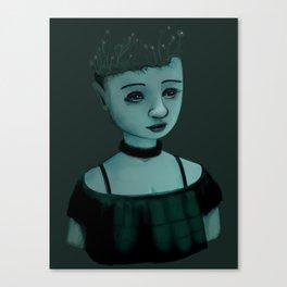 Night Girl II Canvas Print