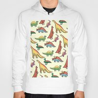 dinosaurs Hoodies featuring DINOSAURS! by Sonny Ross