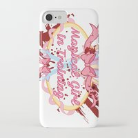magical girl iPhone & iPod Cases featuring Magical Girl In Training by CassidyStone