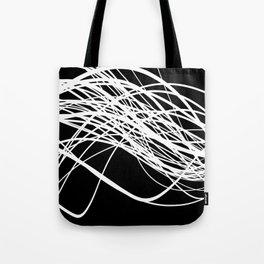 Linear Flow Tote Bag