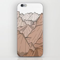 The Mountains of Old iPhone & iPod Skin