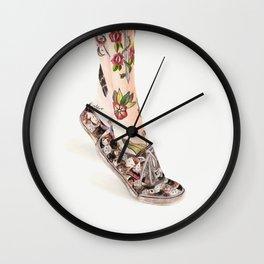 Shoes II Wall Clock