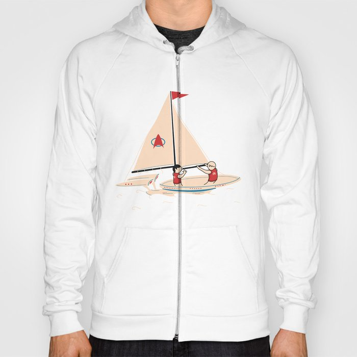 Sailing Towards Future Unknowns Hoody