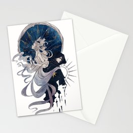 The Sun, the Moon and the Star Stationery Cards