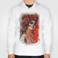 day of the dead Hoodies featuring Day of the Dead by Cellesria /Tanya Varga - Digital Artist