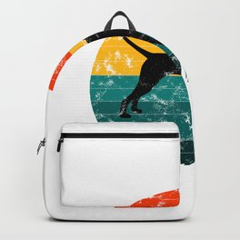 pointer for everybody, poineter dog, pointer sisters, german wirehaired pointer Backpack
