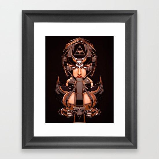 Random Access Madness Framed Art Print
