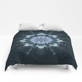 """Dream"" mandala Comforters"