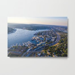 Seattle Washington Metal Print